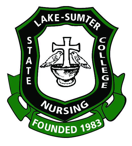Lake-Sumter State College Nursing, Founded in 1983 in a shield artwork