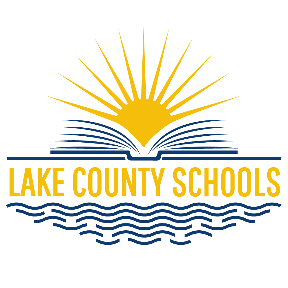 Lake county schools logo