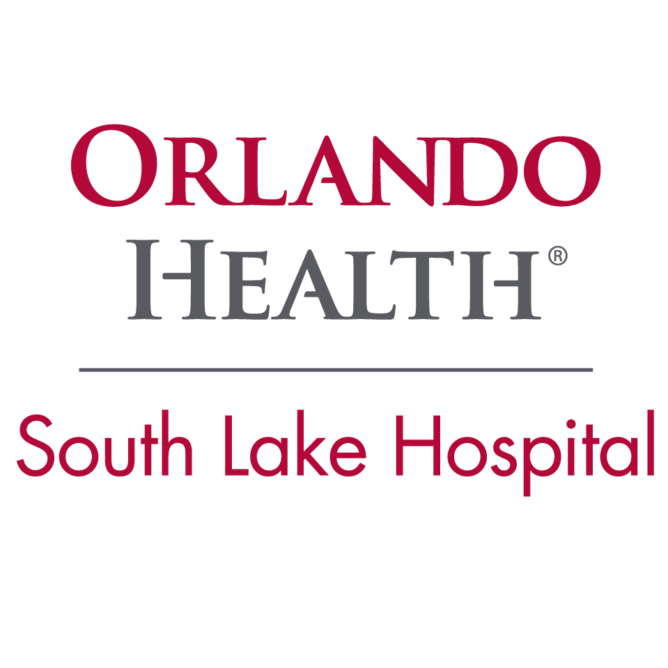 Orlando Health South Lake Hospital text logo