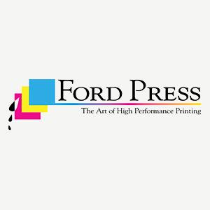 Decorative Ford Press logo