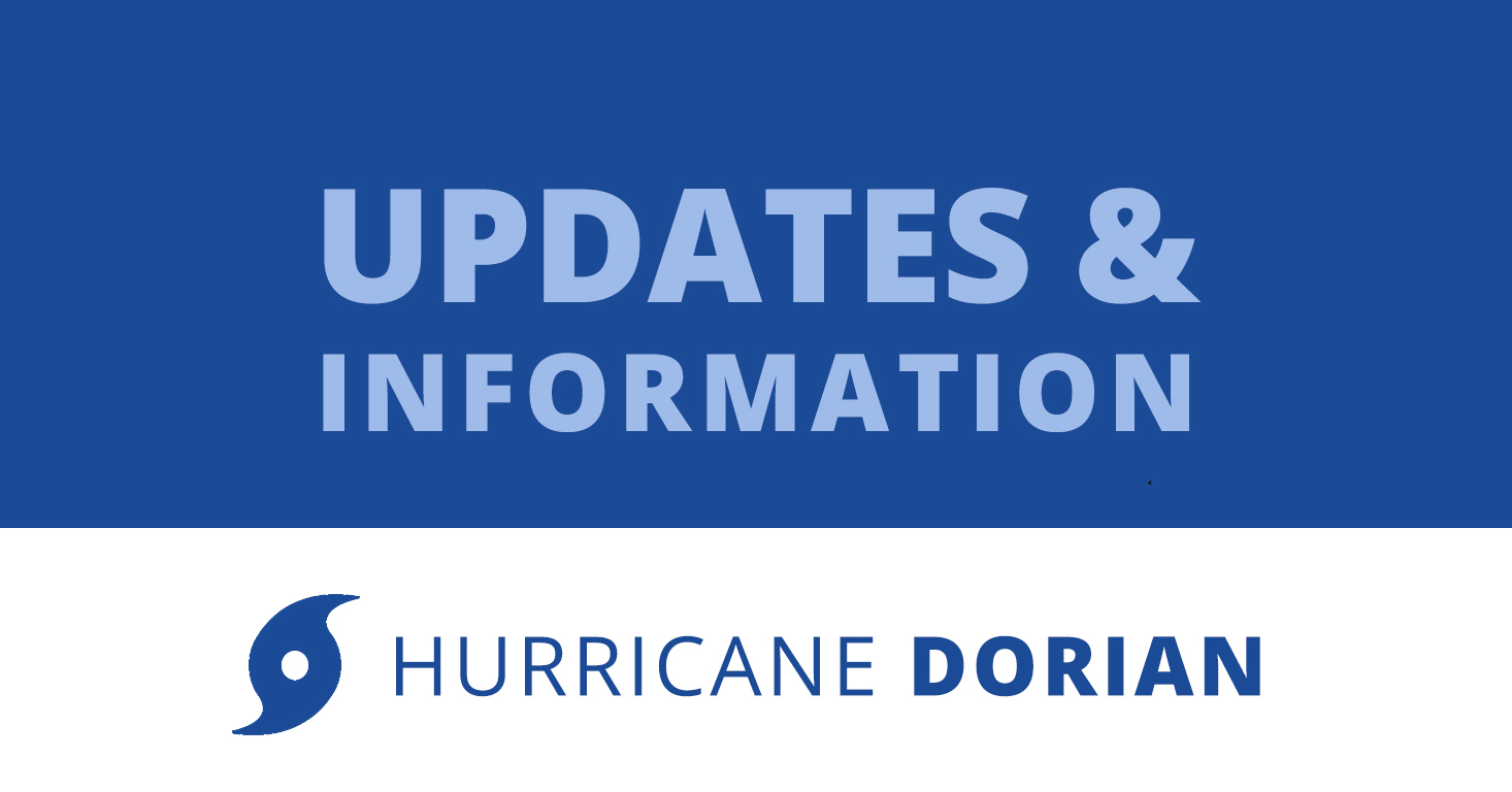 LSSC monitoring and preparing for Hurricane Dorian