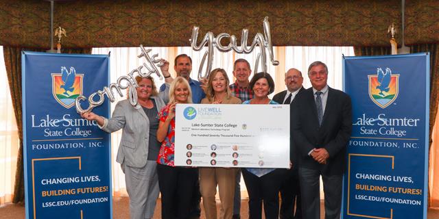 LSSC Foundation receives $170k grant for new Medical Lab Tech program
