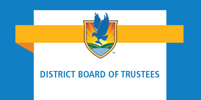 LSSC crest logo with words District Board of Trustees