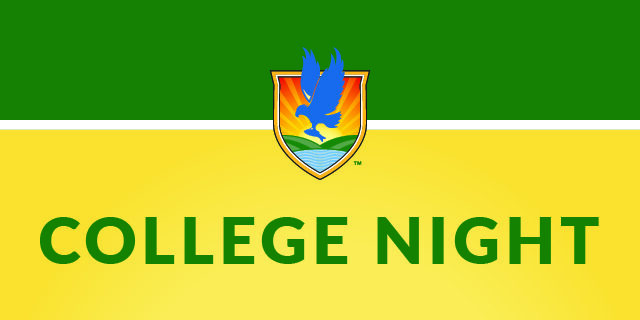 LSSC crest with College Night text
