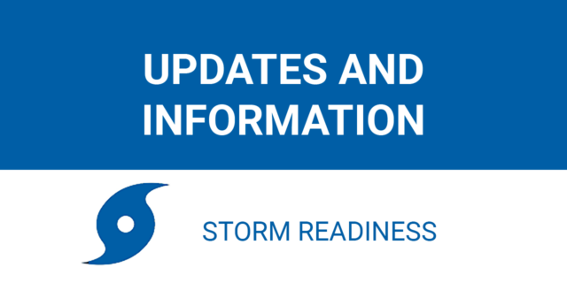 Storm Updates and Information