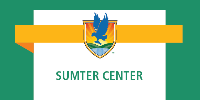 LSSC crest logo with words Sumter Center