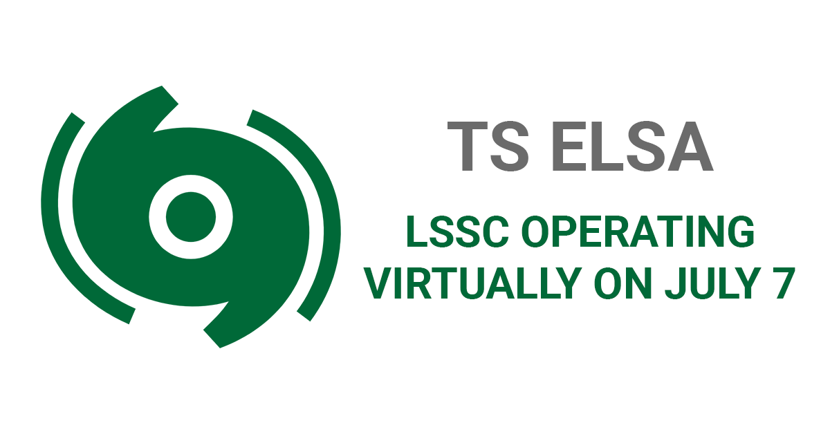 LSSC to operate virtually on July 7 due to TS Elsa