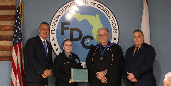 Six corrections officers complete LSSC Corrections Leadership Academy in Spring 2021