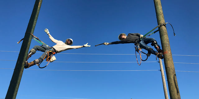 Lineworker students set to showcase their skills