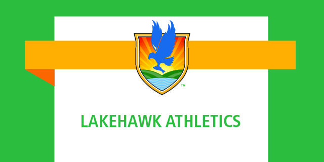 LSSC crest logo with words Lakehawk Athletics