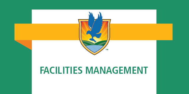 LSSC crest logo with words Facilities Management