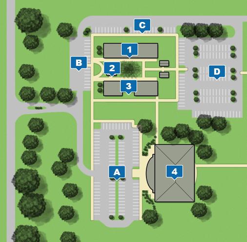 Campus map of Sumter Center