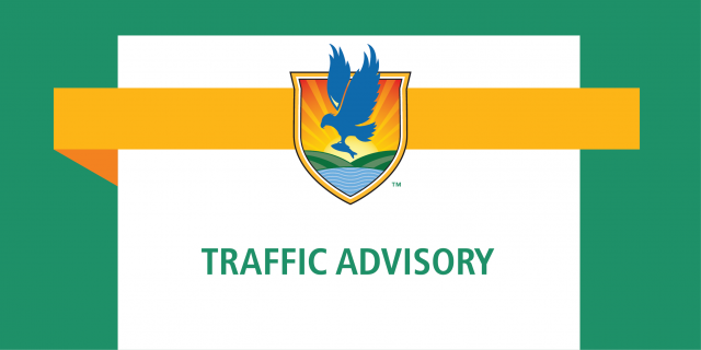 LSSC logo banner with text reading Traffic Advisory