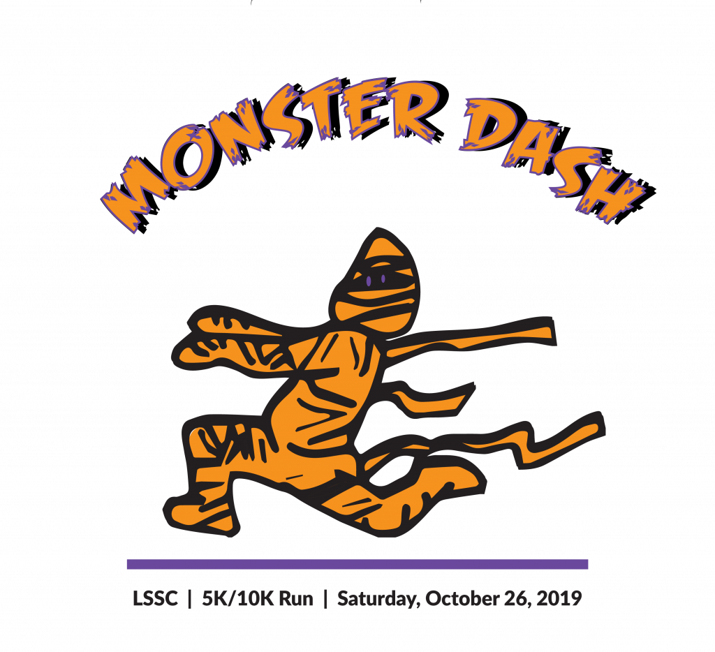 Monster Dash race name above a running mummy