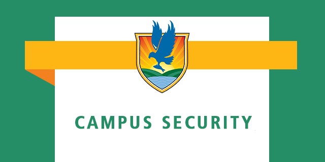 "graphic that says ""campus security"". Includes LSSC logo"
